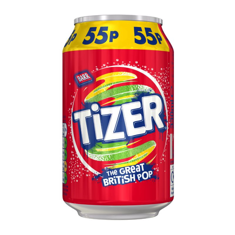 Barr Tizer Sparkling Mixed Flavour Soft Drink