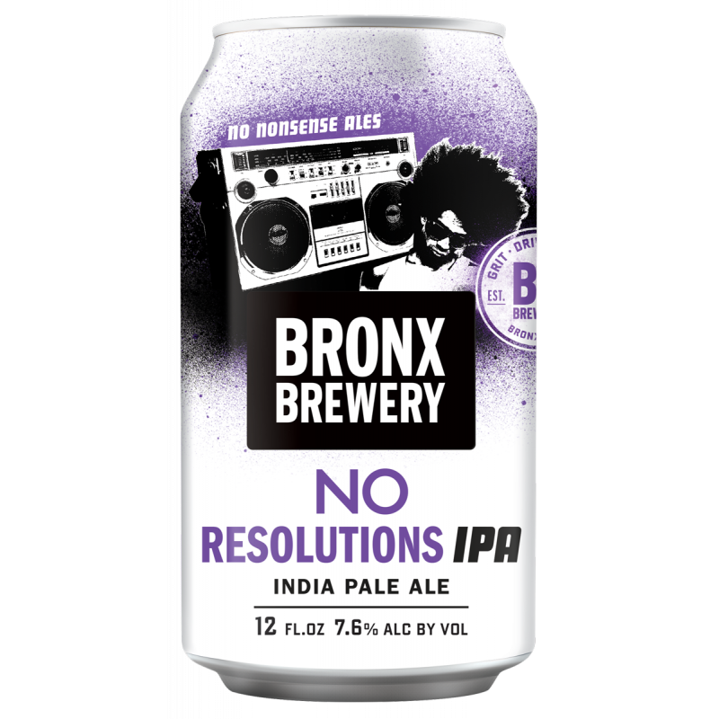 Bronx, No Resolutions IPA