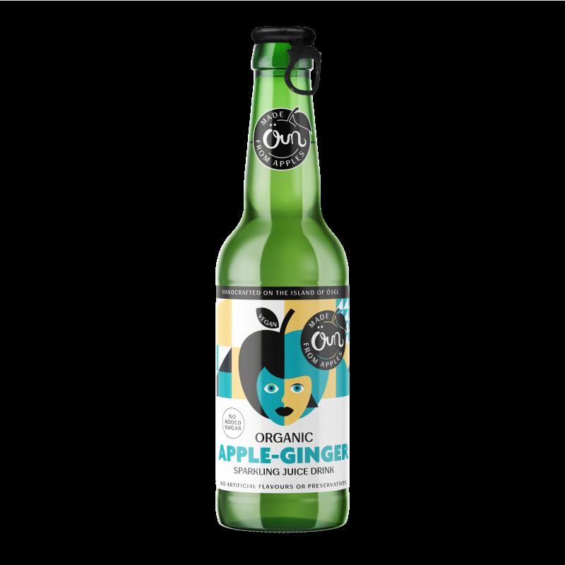 Apple-Ginger SPARKLING JUICE DRINK