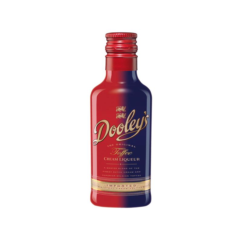Dooley´s Original Toffee & Vodka 17% 5cl miniplo
