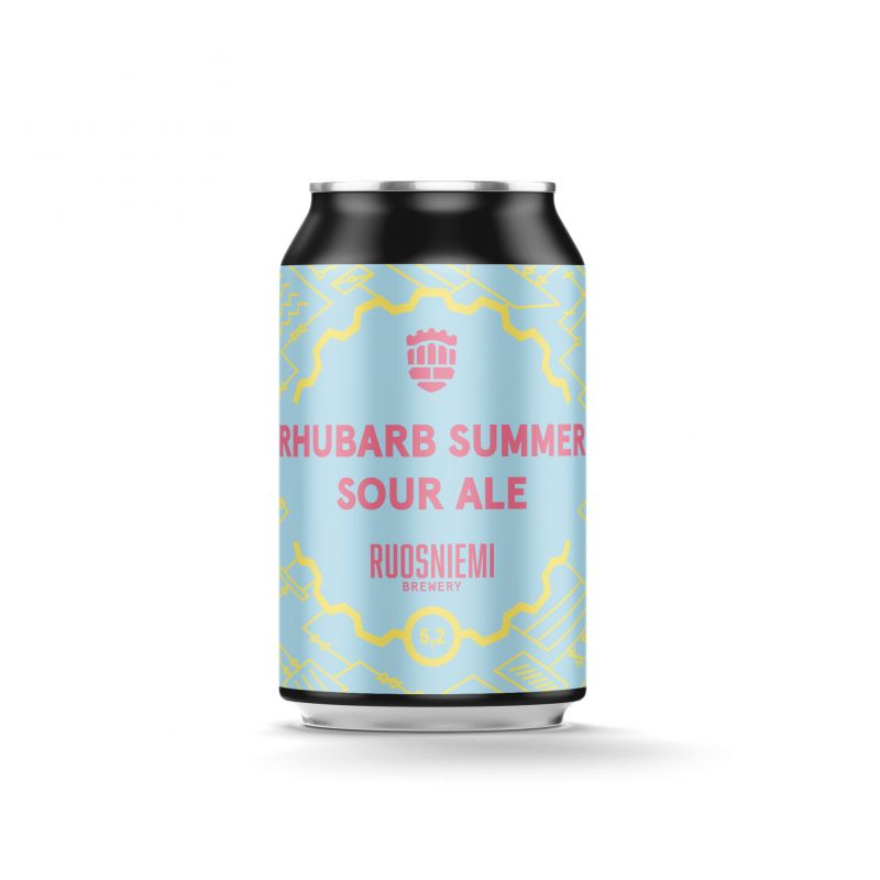 Rhubarb Summer Sour