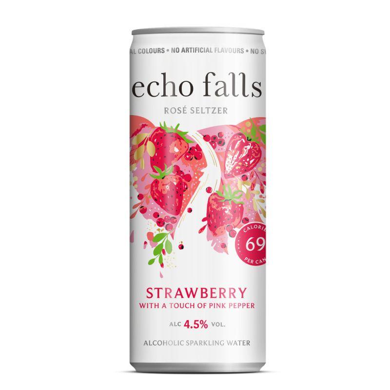 Echo Falls Rosé Seltzer STRAWBERRY 4,5% 250ml