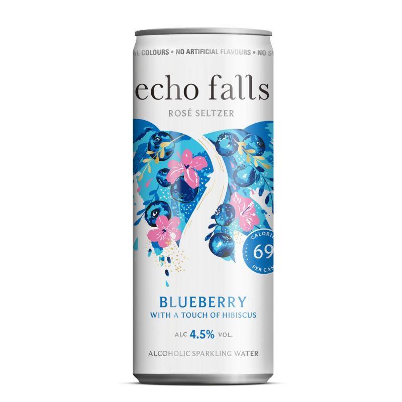 Echo Falls Rosé Seltzer BLUEBERRY 4,5% 250ml