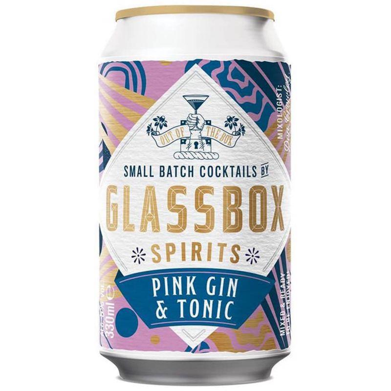 Glassbox Pink Gin & Tonic 5,5%