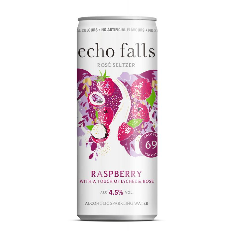 Echo Falls Rosé Seltzer RASPBERRY 4,5% 250ml