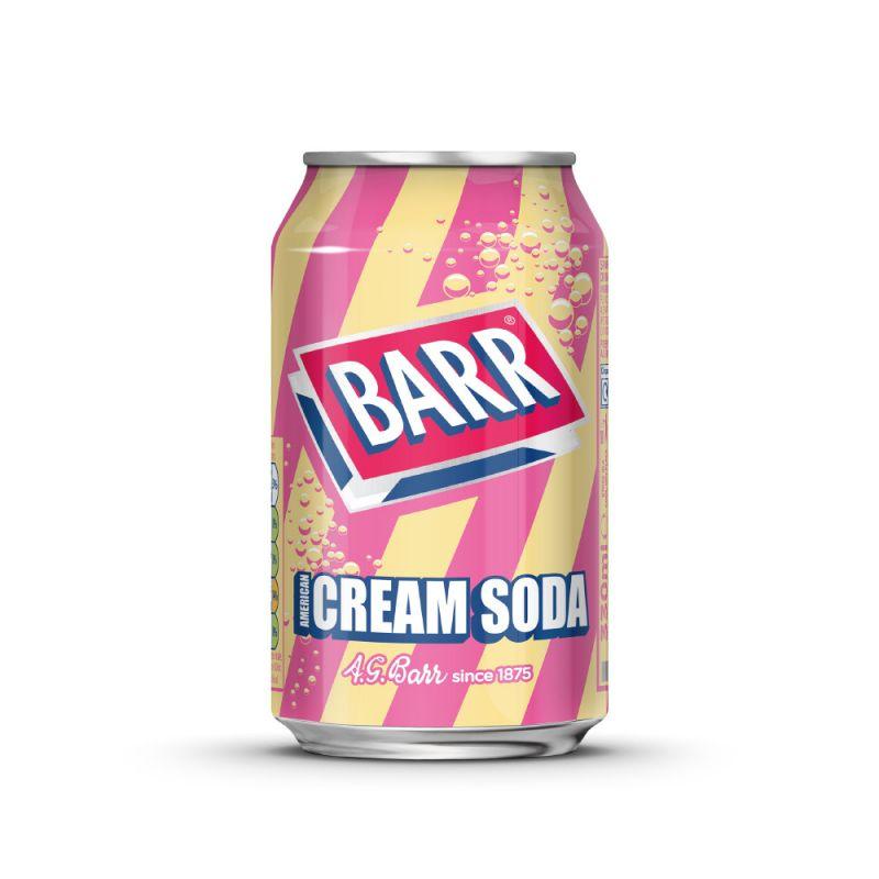Barr Cream Soda Soft Drink