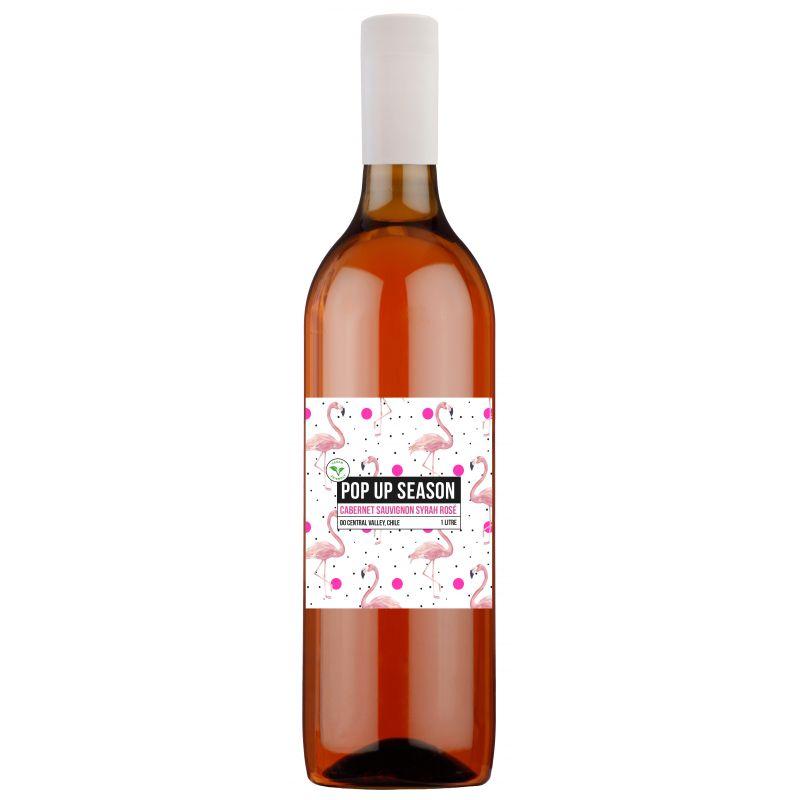 Pop Up Season Cabernet Sauvignon Syrah Rosé 1L PET