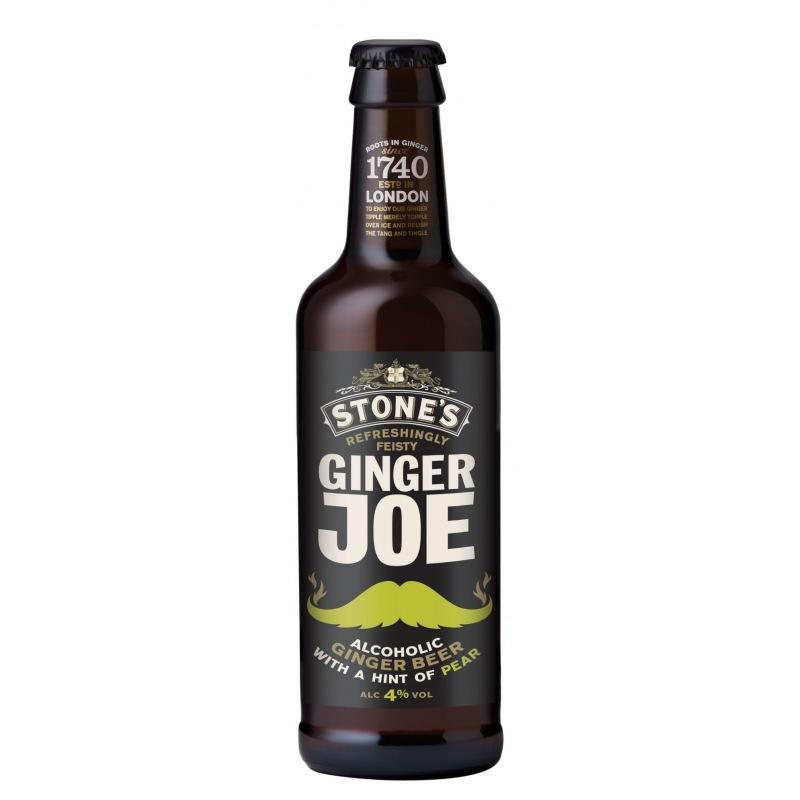 Stone's Ginger Joe Pear 4%